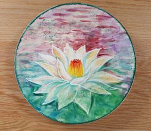 Harrisburg Lotus Flower Plate