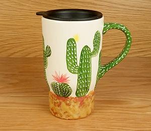 Harrisburg Cactus Travel Mug