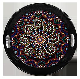 Harrisburg Mosaic Mandala Tray