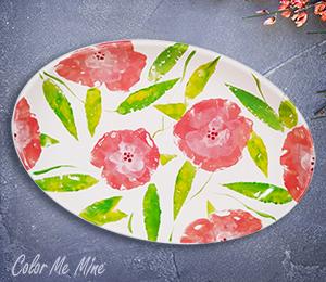 Harrisburg Floral Paper Stamping