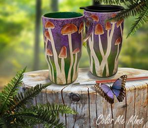 Harrisburg Mushroom Mugs