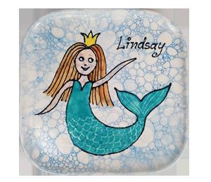 Harrisburg Mermaid Plate