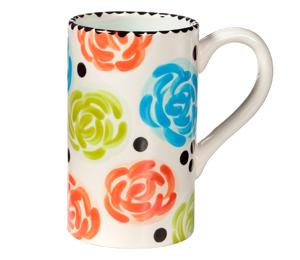 Harrisburg Simple Floral Mug