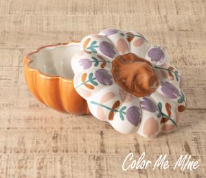 Harrisburg Floral Pumpkin Box