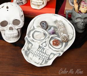 Harrisburg Vintage Skull Plate