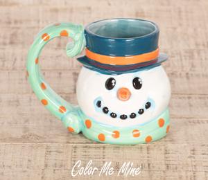 Harrisburg Snowman Mug