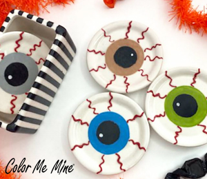 Harrisburg Eyeball Coasters