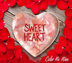 Harrisburg Candy Heart Plate