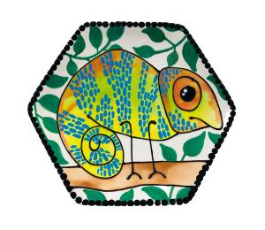 Harrisburg Chameleon Plate
