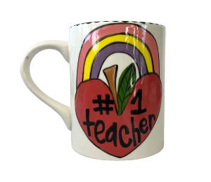 Harrisburg Rainbow Apple Mug